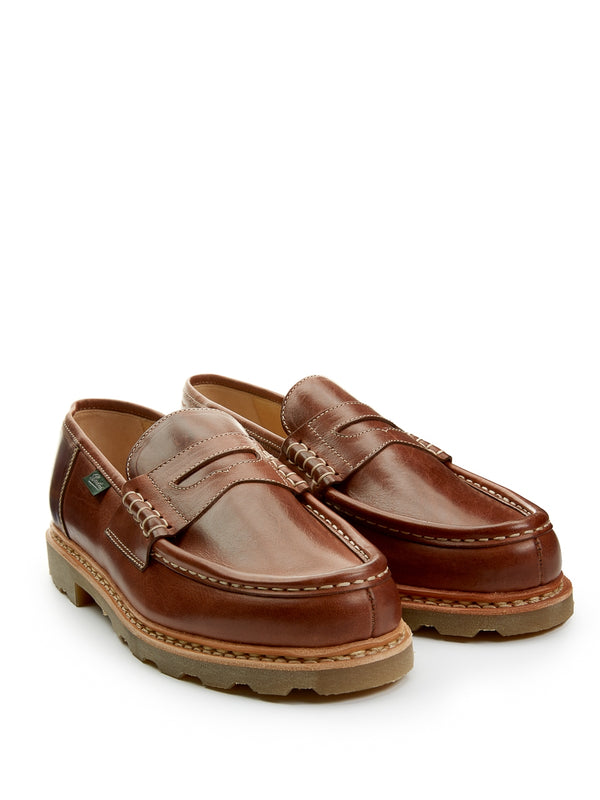 Paraboot Reims Loafer Tan Leather