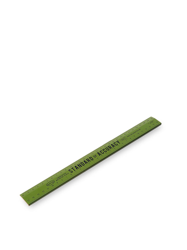 Hightide Penco Wooden Ruler 30cm Khaki