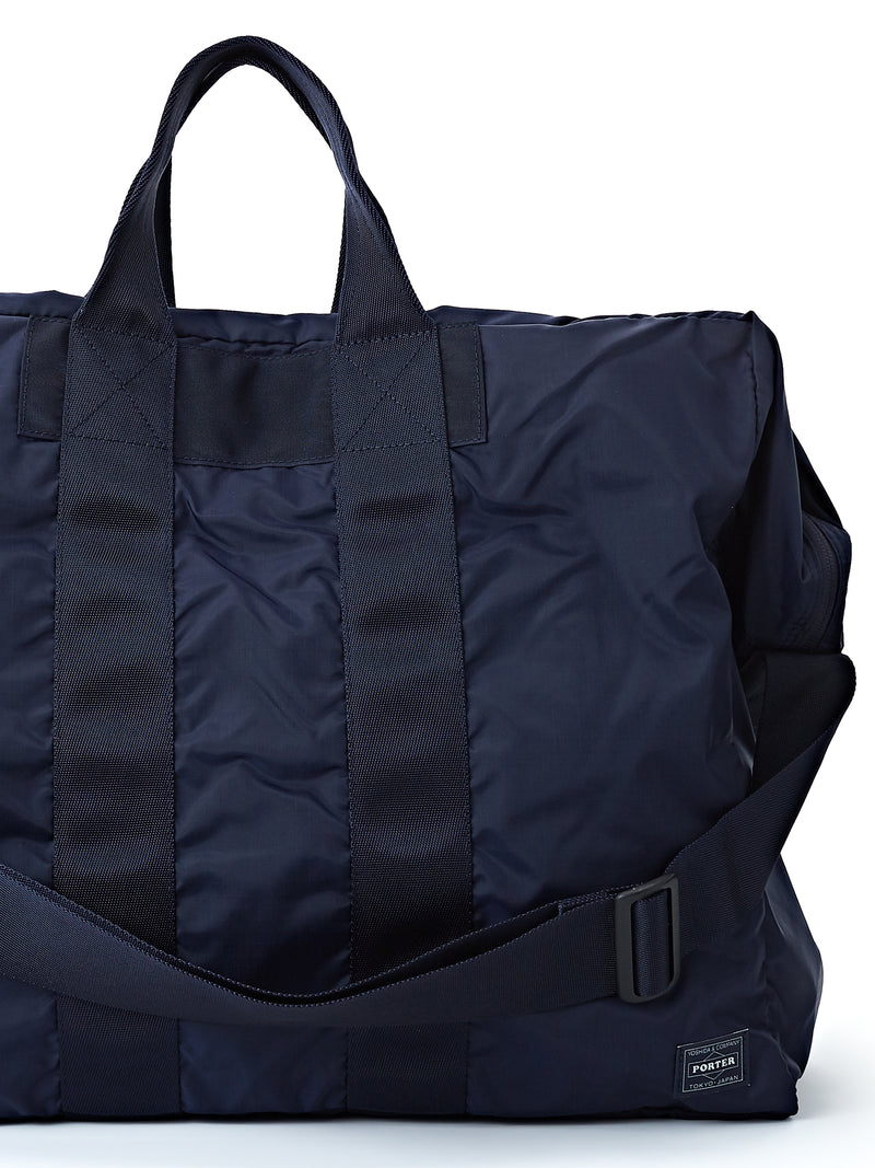 Porter-Yoshida & Co Navy 2-way Flex Duffle Bag