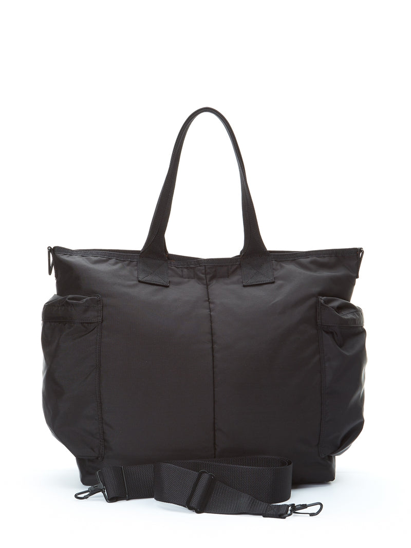 Porter-Yoshida & Co Black 2-way Force Tote Bag