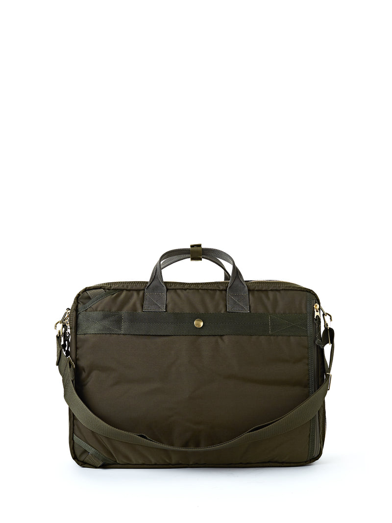 Porter-Yoshida & Co Olive 3-way Force Briefcase