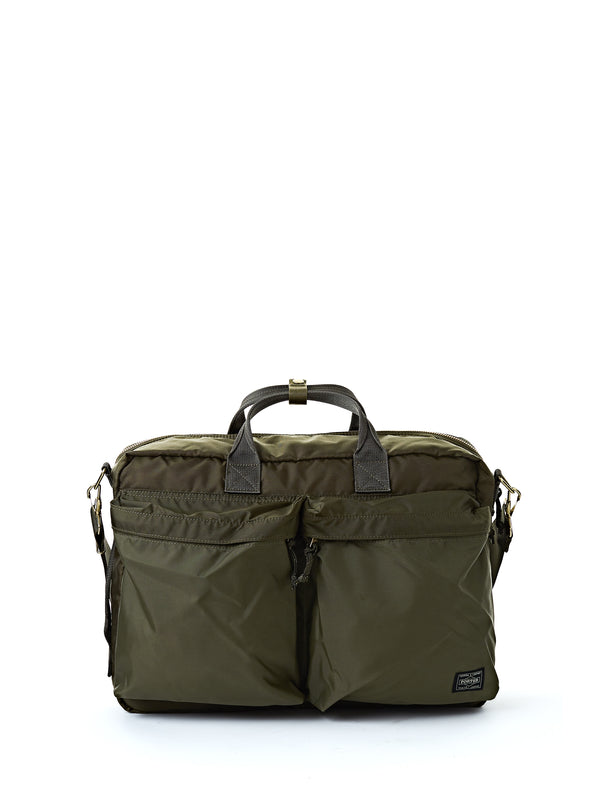 Porter Force 3Way Briefcase Olive
