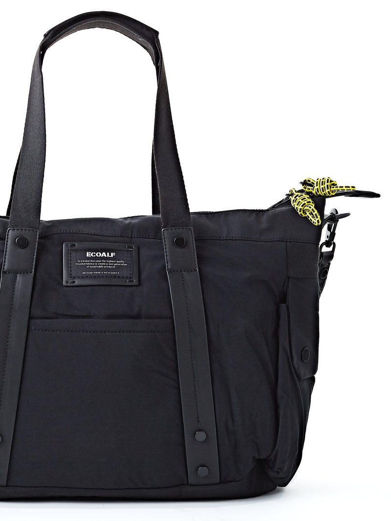 Ecoalf Vilnius Weekend Bag Black