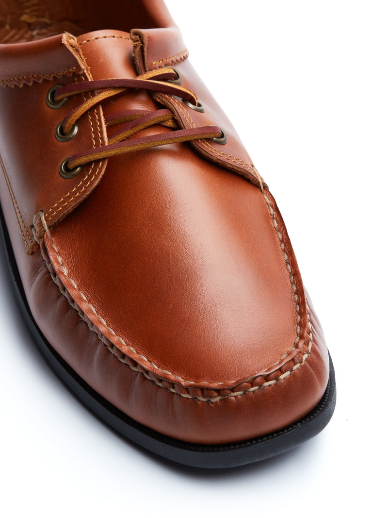 Quoddy Blucher Tan Leather