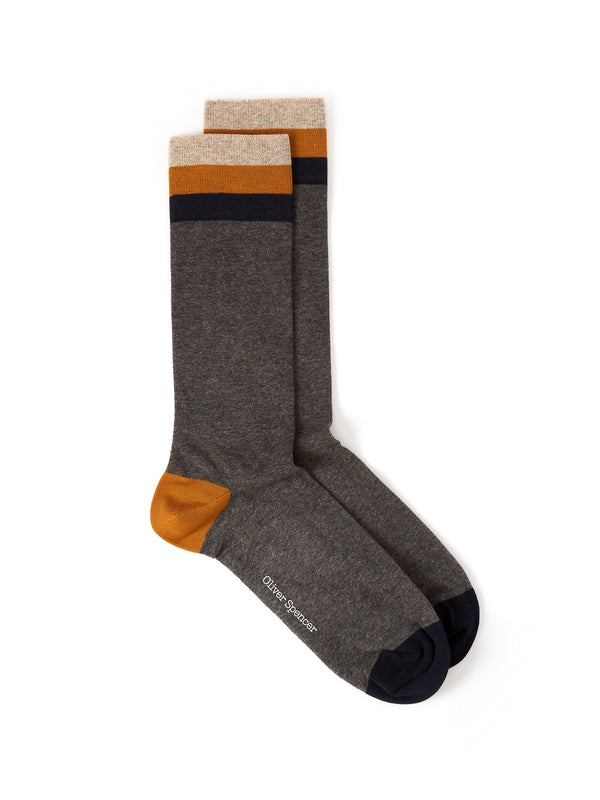 Miller Socks Langdon Grey