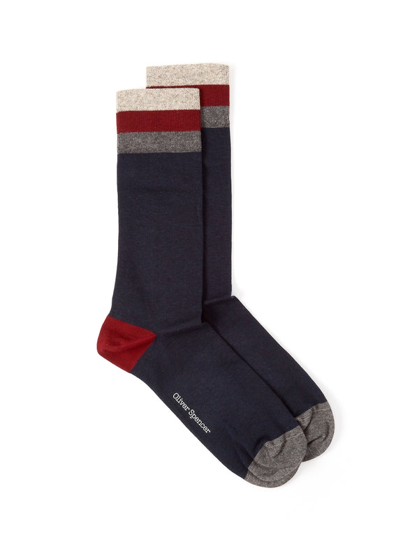 Miller Socks Langdon Navy