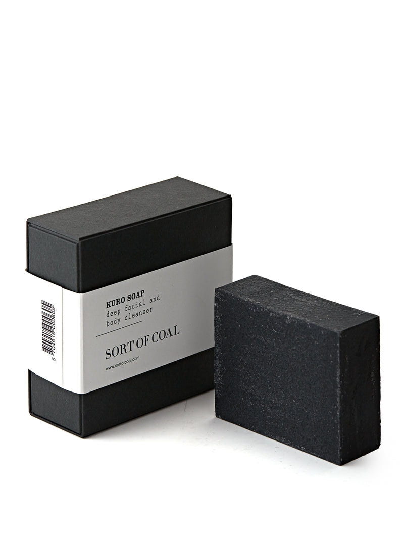 Sort of Coal Kuro Soap Block