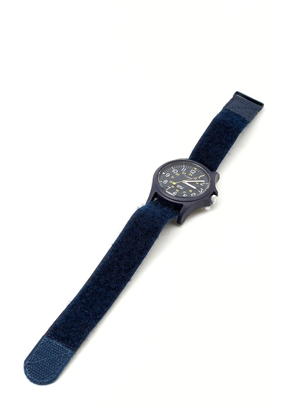 Timex Acadia Watch Navy/Navy Velcro