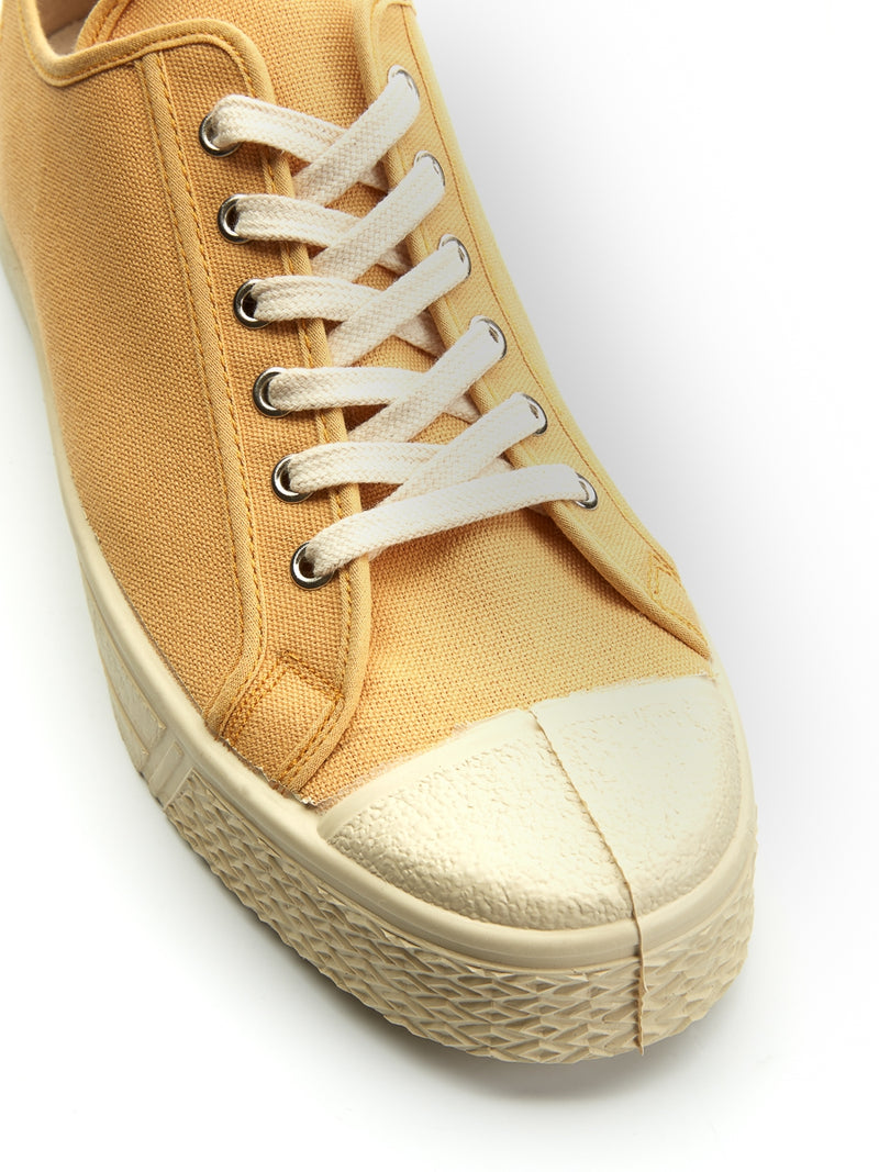 US Rubber Military Low Top Yellow