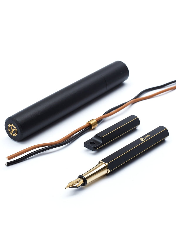 YStudio Portable Fountain Pen Brassing (Medium)