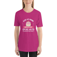 Short-Sleeve Adult Unisex Cupcake T-Shirt