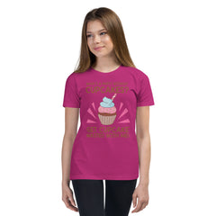 Youth Short Sleeve Cupcake Wasted T-Shirt