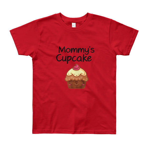 Youth Short Sleeve Cupcake T-Shirt