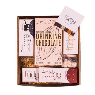 Winter Gift Pack | 6 Fudges & Drinking Chocolate