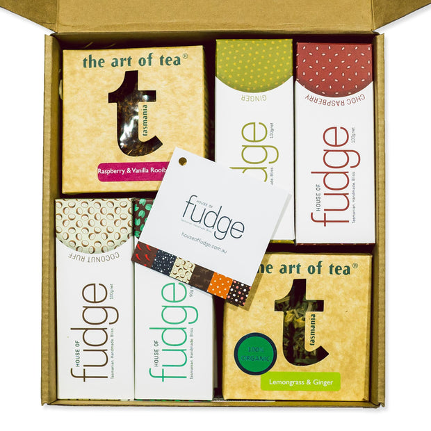 Gift Pack | 8 Fudges & 2 Teas