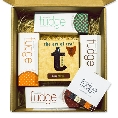 Gift Pack | 4 Fudges & 1 Tea
