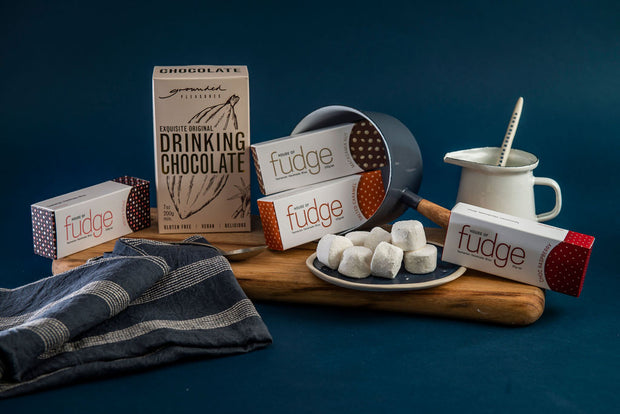 Winter Gift Pack | 4 Fudges & Drinking Chocolate
