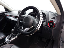 Load image into Gallery viewer, Sparkz Customs™  BISMILLAHIRRAHMANIRRAHIM Kufic Fine 38cm Steering Wheel Cover Right Side View