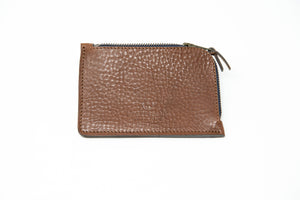 Bleu de Chauffe Zippered Wallet