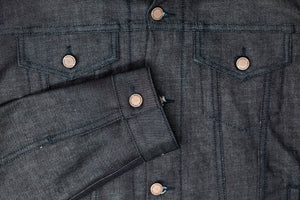 Cornerstone Red Cross Hatch Selvedge Jean Jacket