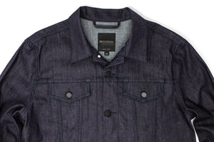 Cornerstone Indigo Stretch Denim Jacket