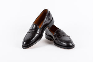 Full Strap Slip-On Loafer - Cordovan