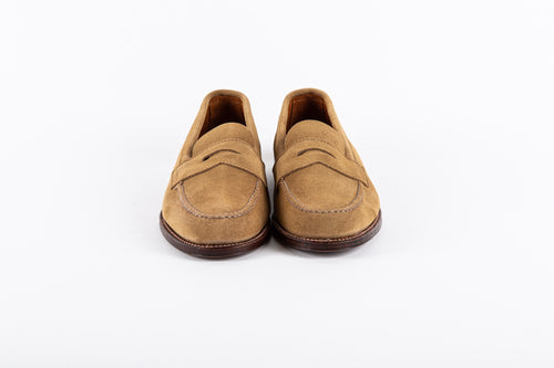 Unlined Penny Loafer - Suede - Handsewn