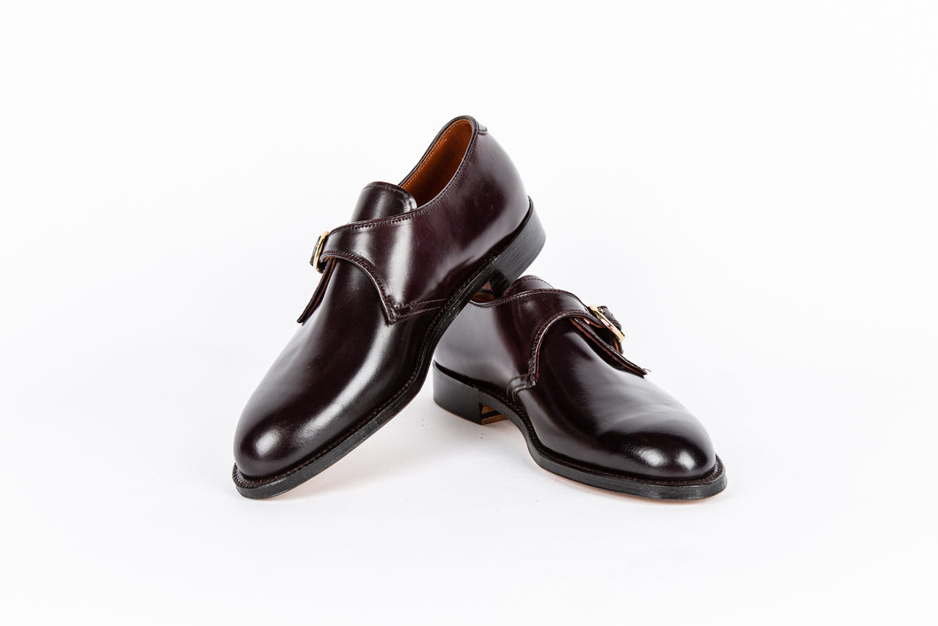 Monk Strap Oxford - Cordovan