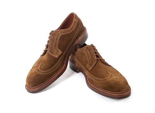Long Wing Blucher - Suede