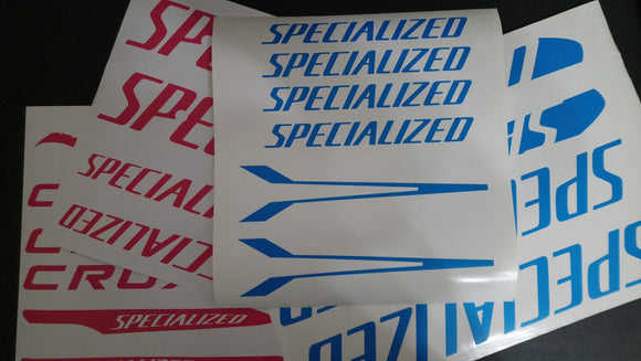 Specialized CruX Decal Set.