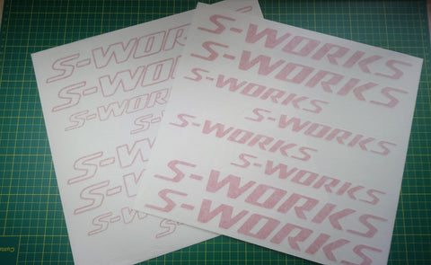 Specialized S-Works Sticker Decal Graphics 1