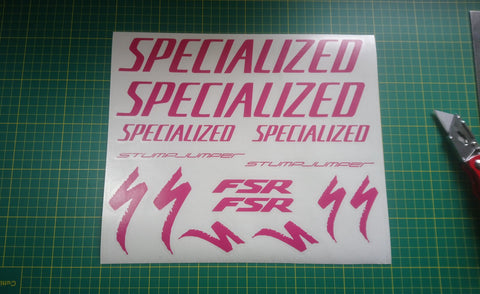 FSR Graphics Set Hot Pink.
