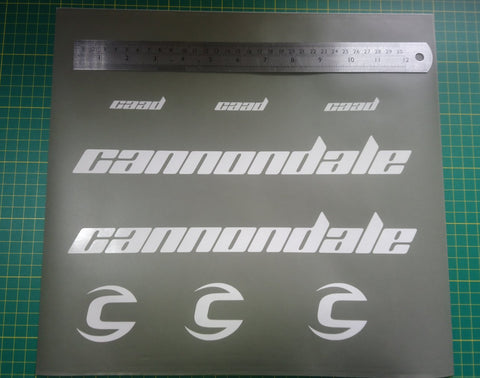 Cannondale CAAD Stencil Set.
