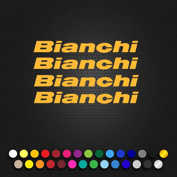 Bianchi Via Nirone 7 Small Letter Set 125Mm X 14Mm. (Np2)