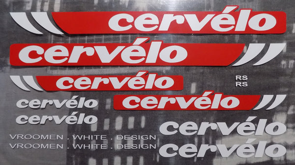 Cervelo RS Decal Set
