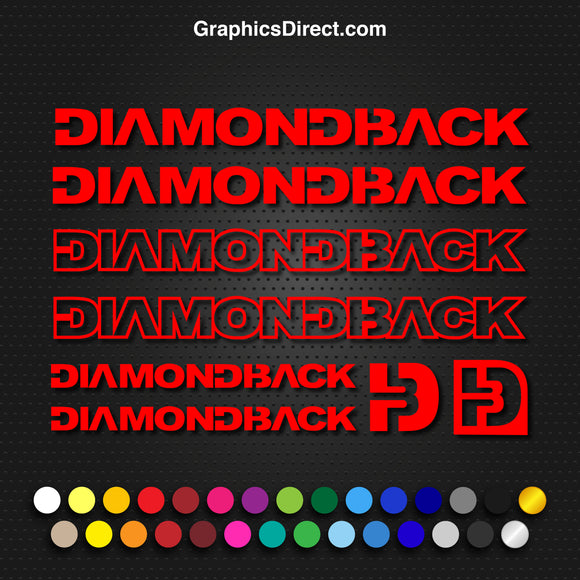 Diamond Back Bike Graphics Set Photo