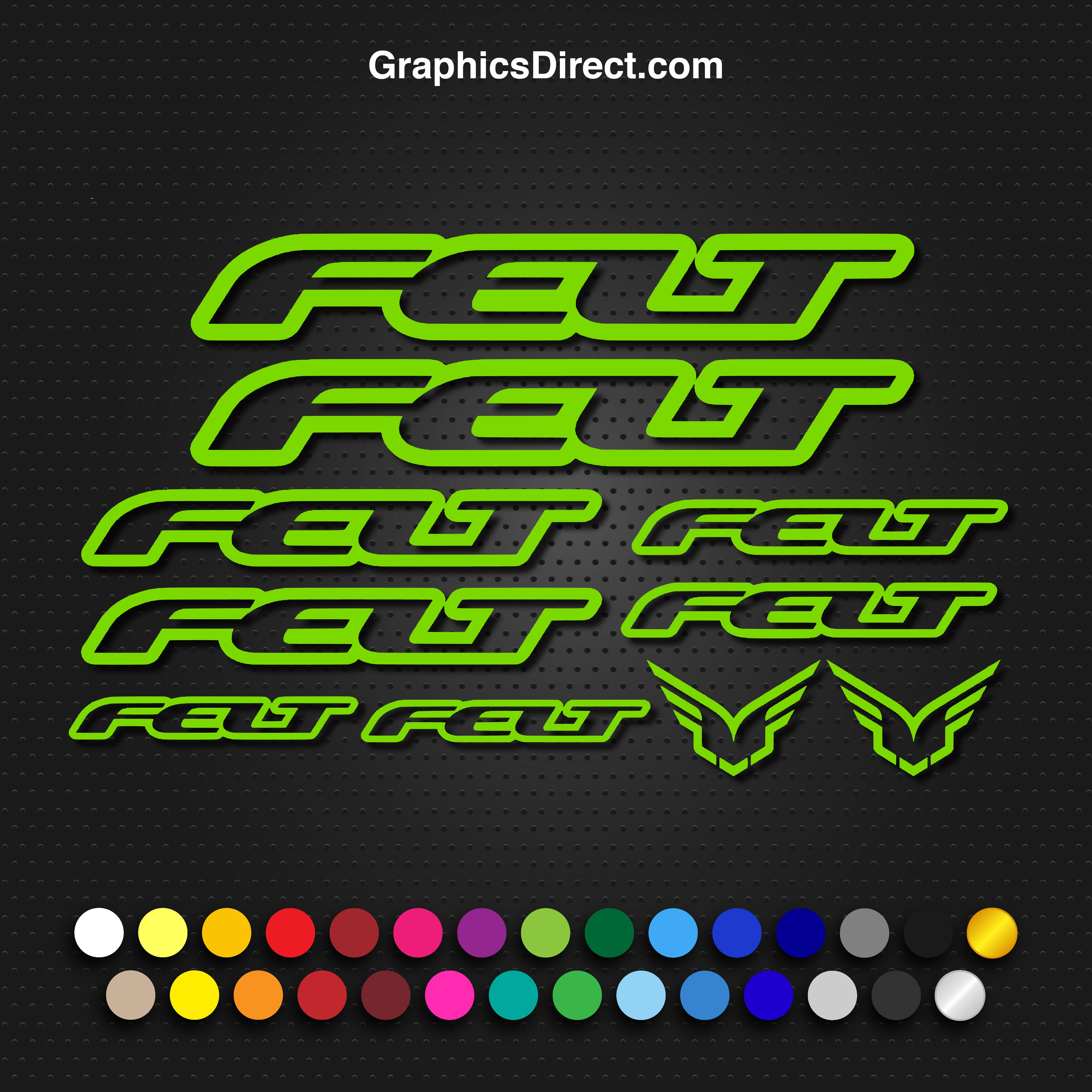 Custom Colors Road XC DH AM MTB USA Seller! Giant Frame Decals