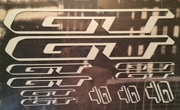 GT Decal Graphics Set Photo