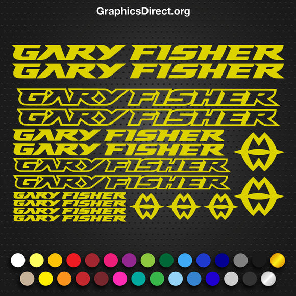 Gary Fisher Decal Set. (101)