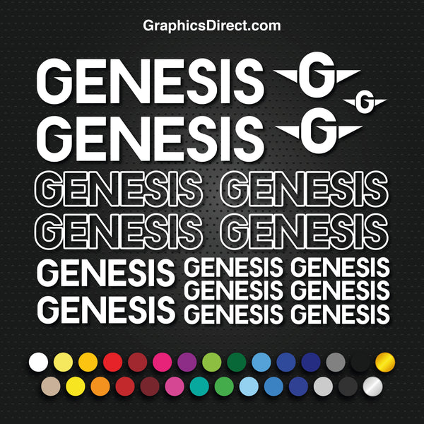 Genesis Graphics Set Photo (EB008)