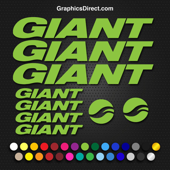 Giant Replacement Vinyl Decal Graphic Sticker Set MTB DH XC Bike