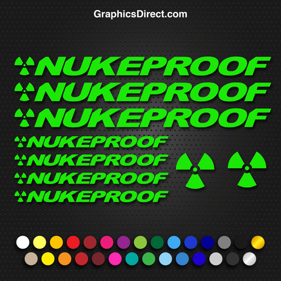 Nukeproof Replacement Vinyl Decal Graphic Sticker Set MTB DH XC Bike