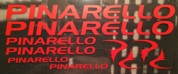 Pinarello Graphics Decal Set Photo