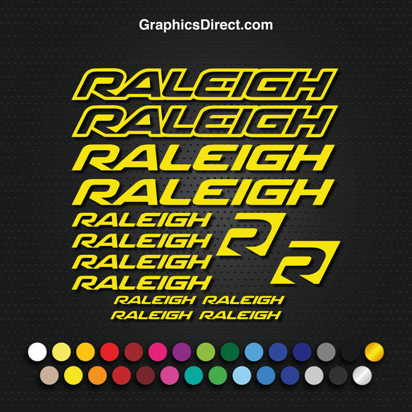Raleigh Graphics Set Photo (EB015)