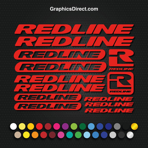 Redline Graphics Set Photo (EB016)