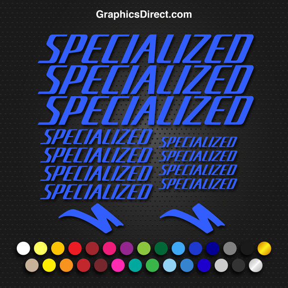 Specialized Vinyl Decals Stickers x13 MTB Road Cycling Bike