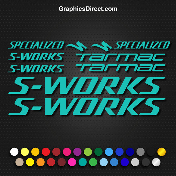 Specialized S-Works Tarmac Bike Decal Graphic Set V2 Photo