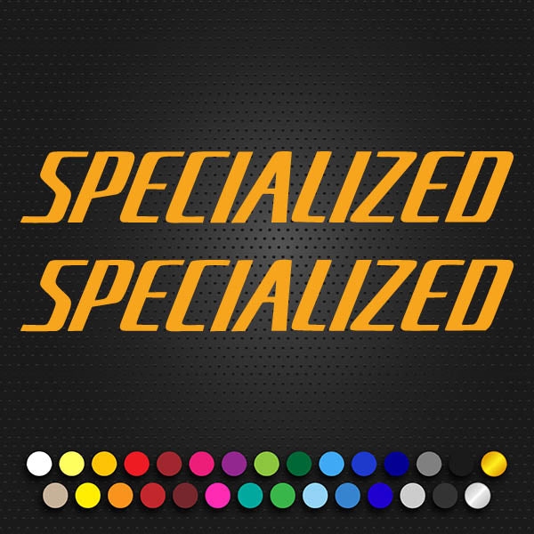 Specialized Allez Large Text Decal 2012 Model. (101P1)