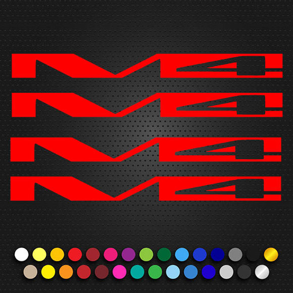 Specialized EPIC FSR Decal Set M4 Large 140x12