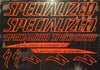 Specialized Stumpjumper Logo Outlined Graphics Set.
